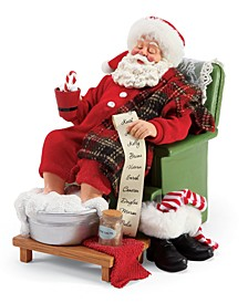 Possible Drams Santa Spa Day Figurine