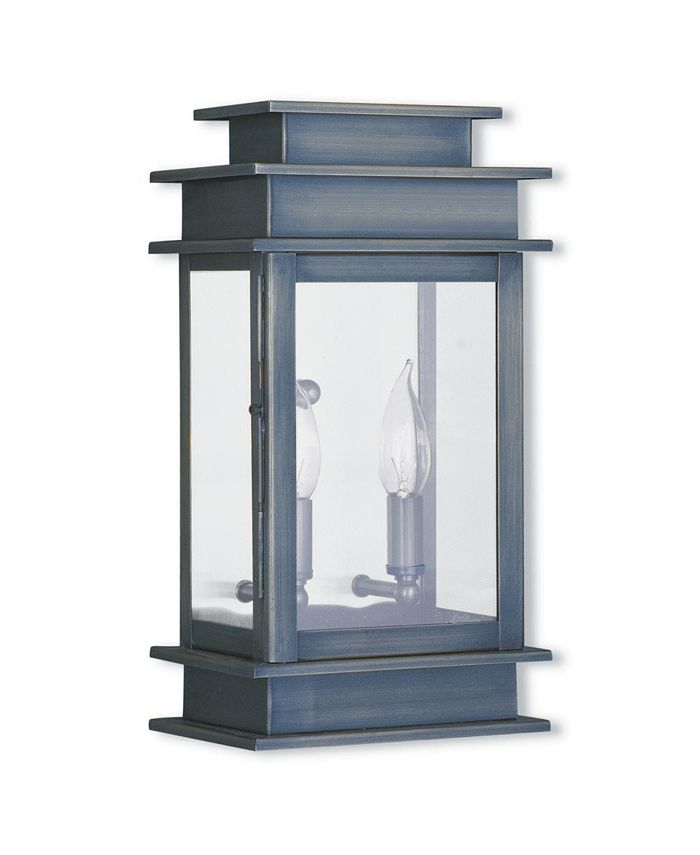 "Livex - Princeton 2-Light Outdoor 14"" Wall Lantern"