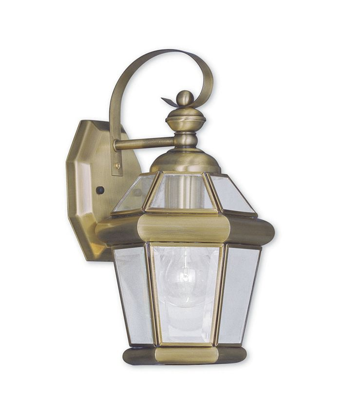 Livex - Georgetown 1-Light Outdoor Wall Lantern