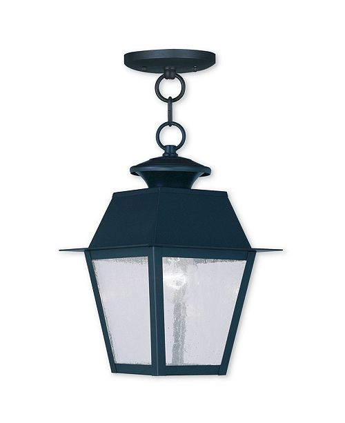 Livex Mansfield 1-Light Outdoor Chain Lantern