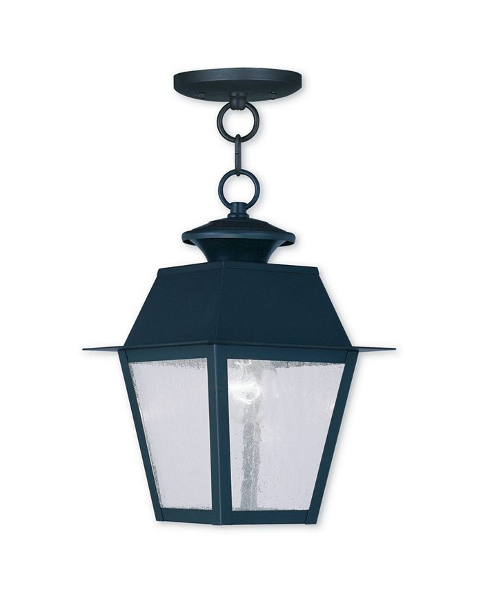 Livex - Mansfield 1-Light Outdoor Chain Lantern
