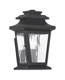 CLOSEOUT!   Hathaway 1-Light Outdoor Wall Lantern