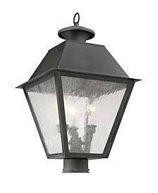 Mansfield 3-Light Outdoor Post Lantern