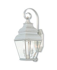 Exeter 2-Light Outdoor Wall Lantern
