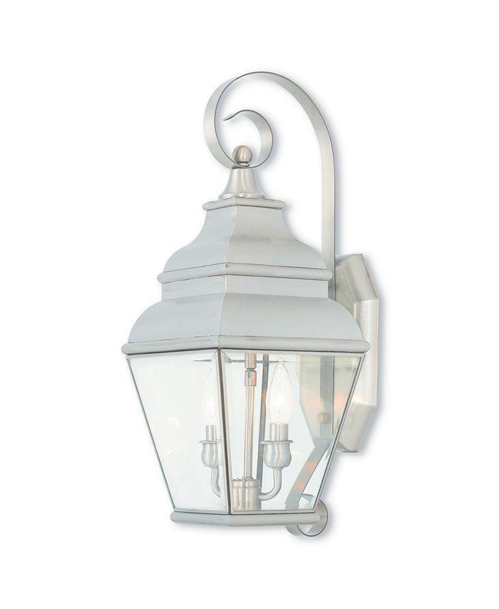 Livex - Exeter 2-Light Outdoor Wall Lantern