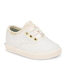 Baby Girls Keds x Kate Spade Champion Glitter Crib Sneaker