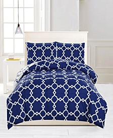 Greyson Reversible 3-Pc. King Comforter Set