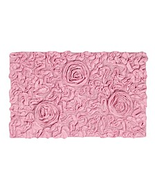 "Bellflower Bath Rug 24"" x 40"" Bath Rug"