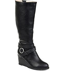 Journee Collection Women's Comfort Wide Calf Garin Boot