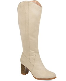 Journee Collection Women's Comfort Extra Wide Calf Parrish Boot