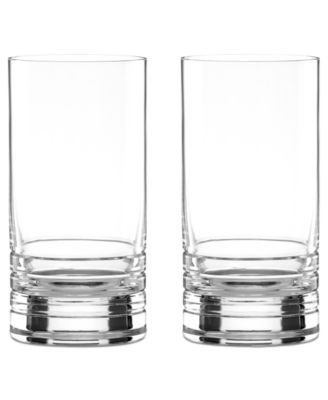 Set of 2 Percival Place Highball Glasses