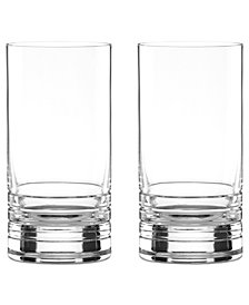 kate spade new york Set of 2 Percival Place Highball Glasses