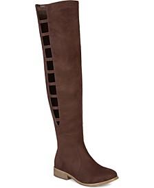 Women's Wide Calf Pitch Boot