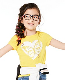 Toddler Girls Butterfly-Print T-Shirt, Created for Macy's