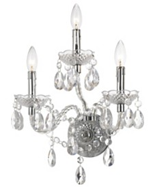 AF Lighting Naples 3-Light Wall Sconce