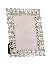 Silver Pearl Eye Frame - 4x6