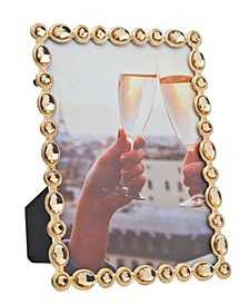 Gold with Yellow Gem Frame - 5x7