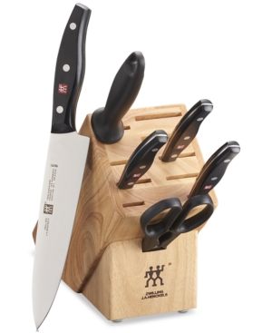 Zwilling J.a. Henckels Twin Signature 7 Piece Kitchen Cutlery Knife Block Set