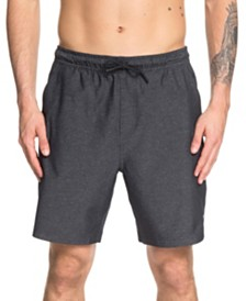 "Quiksilver Waterman Men's Tech 19"" Elastic Short"