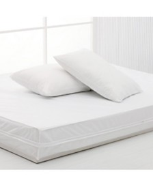 Permafresh Antibacterial and Water Resistant 4-Piece Complete Bed Protector Set