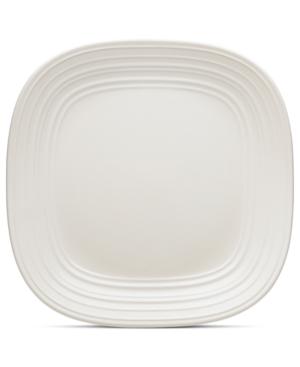 Mikasa Dinnerware, Swirl Square White Dinner Plate