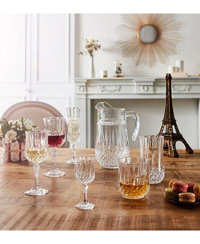 Cristal D'Arques Longchamp Glassware Collection