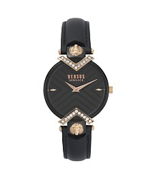 Versus Women's Black Strap Watch 16mm