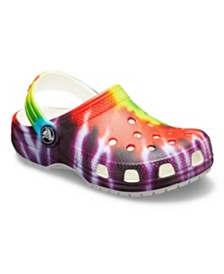 Crocs Baby, Toddler & Little Kids Classic Tie Dye Graphic Clog K