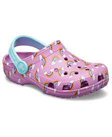 Crocs Baby, Toddler, Little Girls Classic Seasonal Graphic Clog