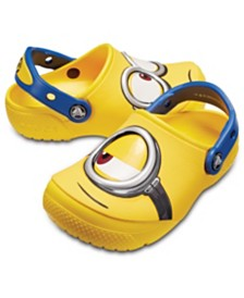 Crocs Baby, Toddler, Little Kids CrocsFunLab Minions Clog