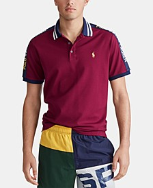 Men's Classic Fit Stretch Mesh Polo