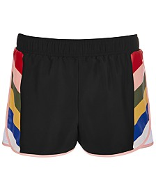 Ideology Big Girls Printed Active Shorts, Created for Macy's