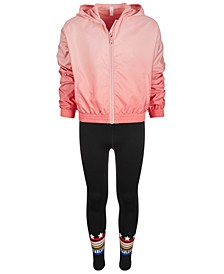 Big Girls Windbreaker & Leggings, Created for Macy's