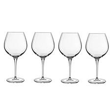 Glassware, Crescendo All-Purpose Wine Glasses, Set of 4