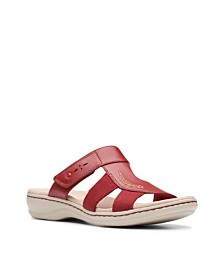 Clarks Collection Women's Leisa Emily Slide Sandals