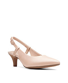 Clarks Collection Women's Linvale Loop Slingback Pumps