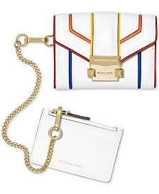 MICHAEL Michael Kors 2-in-1 Rainbow Trim Wallet
