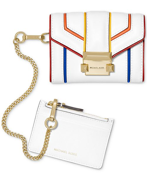 Michael Kors 2-in-1 Rainbow Trim Wallet