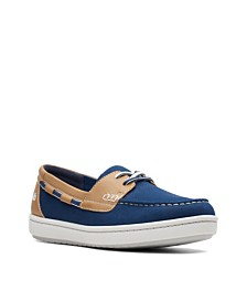 Clarks Women's Cloudsteppers Step Glow Lite Boat Shoes