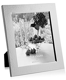 "Vera Wang Wedgwood Hammered 8"" x 10"" Picture Frame"