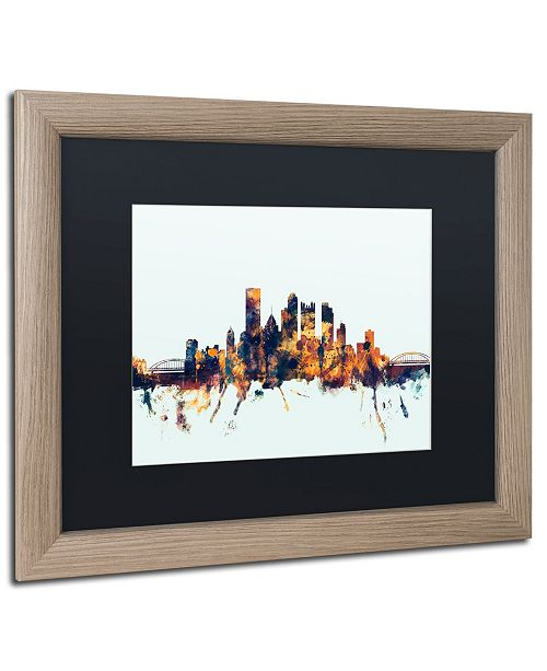 Trademark Global Michael Tompsett 'Pittsburgh PA Skyline