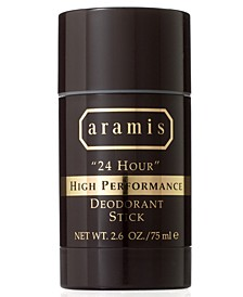 "Men's ""24 Hour"" High Performance Deodorant Stick, 2.6 oz"