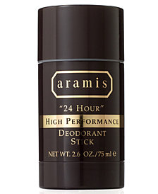 "Aramis Men's ""24 Hour"" High Performance Deodorant Stick, 2.6 oz"