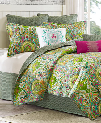 closeout echo taj coverlet collection bedding collections bed bath macy 39 s. Black Bedroom Furniture Sets. Home Design Ideas