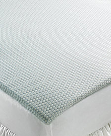 "CLOSEOUT! SensorGel 1.5"" Gel Memory Foam Mattress Toppers, Breathable Foam with COOLcloth Cover, Created for Macy's"