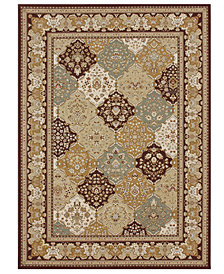 CLOSEOUT! Loloi Rugs, Samira WL02 Panel Multi/Coffee