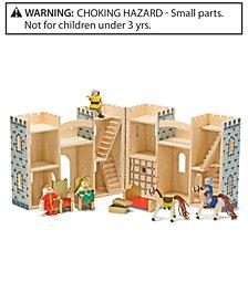 Melissa and Doug Kids Toys, Fold & Go Castle