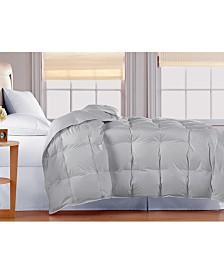 Blue Ridge Oversized White Goose Down Comforter, Twin