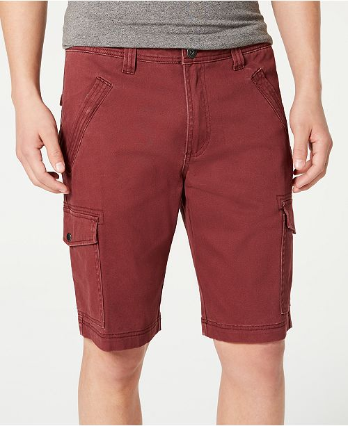 """INC International Concepts INC Men's Shook Cargo 11"""" Shorts, Created for Macy's"""