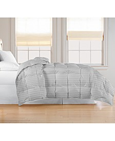 Oversized White Goose Feather/Down Comforter, Full/Queen